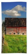 Ashtabula County Barn Bath Towel