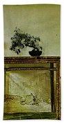 Asian Furniture And Bonsai Bath Towel
