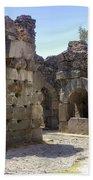 Asklepios Temple Ruins View 4 Bath Towel