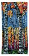Aspen Grove By Olena Art Bath Towel