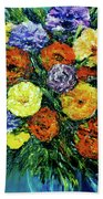 Assorted Flowers #191 Bath Towel