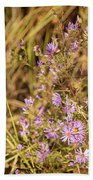 Asters In Autumn Bath Towel