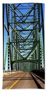 Astoria-megler Bridge Bath Towel