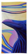 Astral Raven Bath Towel