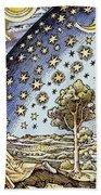 Astrology, 16th Century Bath Towel