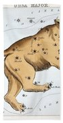 Astronomy: Ursa Major Bath Towel