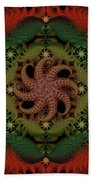 At The Bottom Of The Sea Coral Bath Towel
