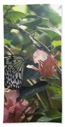 At The Butterfly Expo 2 Bath Towel