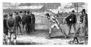 Athletics: Shot Put, 1875 Bath Towel
