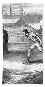 Athletics: Shot Put, 1875 Hand Towel