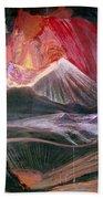 Atl: Volcano, 1943 Bath Towel