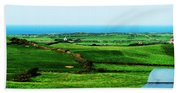 Atlantic View Doolin Ireland Bath Towel