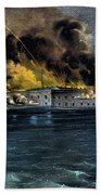 Attack On Fort Sumter Bath Towel