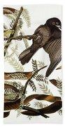 Audubon: Crow Hand Towel