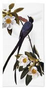 Audubon Flycatcher, 1827 Bath Towel