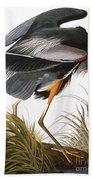 Audubon: Heron Bath Towel