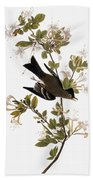 Audubon: Pewee, 1827-38 Bath Towel