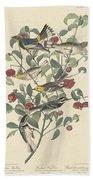 Audubon's Warbler Bath Towel