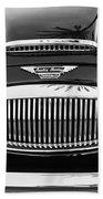 Austin Healey 3000mk II Grille - 0161bw Bath Towel