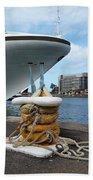 Australia - Cruise Ship Tied Up Bath Towel