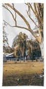 Australian Rural Countryside Landscape Bath Towel