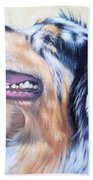 Australian Shepherd Dog Bath Towel