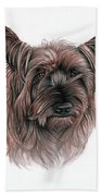 Australian Terrier Bath Towel