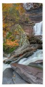 Autumn At Kaaterskill Falls Bath Towel