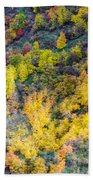 Autumn Background  Bath Towel
