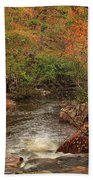 Autumn Colors On Pickle Creek 1 Bath Towel