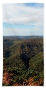 Autumn Comes To The Mountains 3 Bath Towel