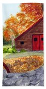 Autumn Day Bath Towel