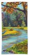Autumn Daze Splendor  Bath Towel