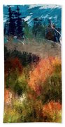 Autumn Feel Bath Towel