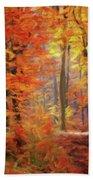 Autumn Glow Bath Towel