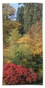 Autumn In Baden Baden Hand Towel by Travel Pics