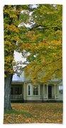 Autumn In Franklin Bath Towel