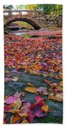 Autumn In New England Hand Towel
