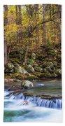 Autumn In Smoky Mountains National Park  Bath Towel