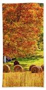 Autumn In West Virginia Bath Towel