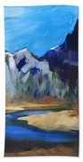 Autumn In Yosemite Bath Towel