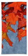 Autumn Leaves 19 Bath Towel