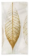 Autumn Leaves IIi Fallen Gold Bath Towel