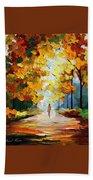 Autumn Mood Hand Towel