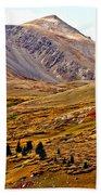 Autumn Peaks In The Rockies Bath Towel