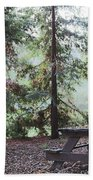 Autumn Picnic In The Woods  Bath Towel