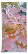 Autumn Pink Bath Towel