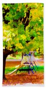 Autumn Playground Hand Towel