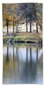 Autumn Reflection 16 Bath Towel