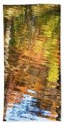 Autumn Reflections-3 Bath Towel